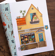 Collection of stores from Natalia Pavlyuk. 8 Postcards Set