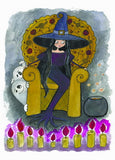 "Postcard ""The Witch`s Throne"""