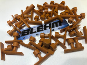 Blehm Crease Tabs (Orange)