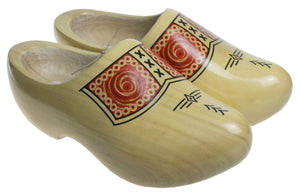 Yellow Farmers Wooden Shoes