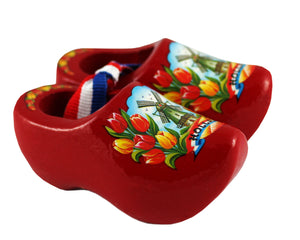 Open image in slideshow, Souvenir Wooden Shoes (Medium)