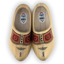 Load image into Gallery viewer, Yellow Farmers Wooden Shoes