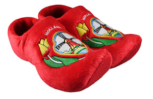 Red Tulip Slippers