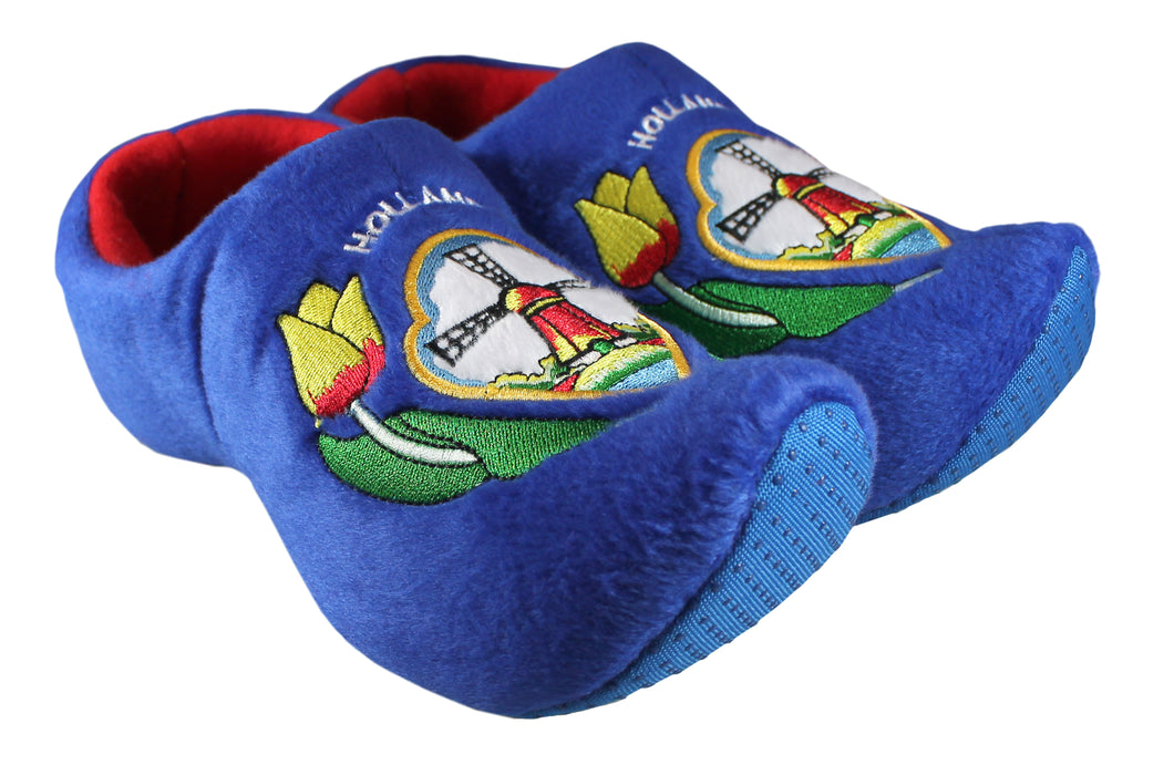 Blue Tulip Slippers