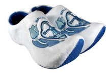 Load image into Gallery viewer, Delft Blue Tulip Slippers