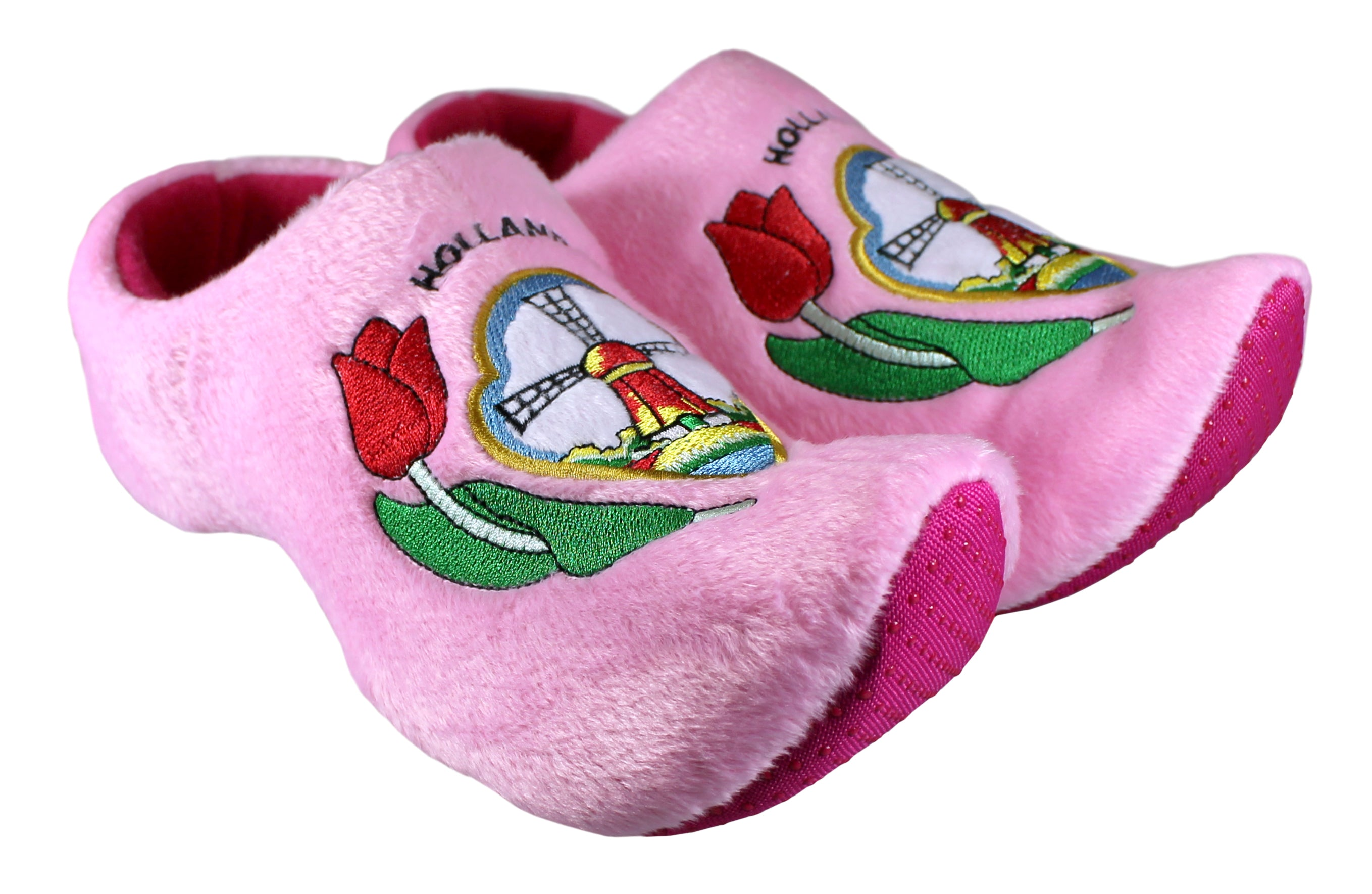 Pink Tulip Slippers