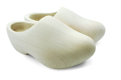 Sanded Wooden Shoes (Round Nose)