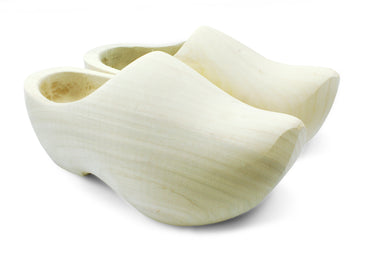 Sanded Wooden Shoes (Pointed Nose)