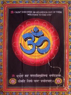 OM SEQUIN TAPESTRY
