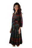 DRESS MULTI COLOR TIE DYE 219827