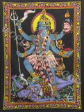DEITY TAPESTRY SEQUINED GODDESS KALI