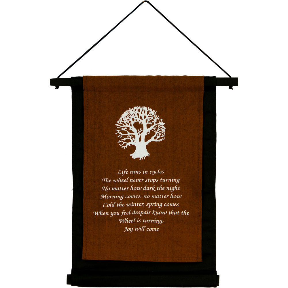 TREE OF LIFE SMALL INSPIRATIONAL BANNER