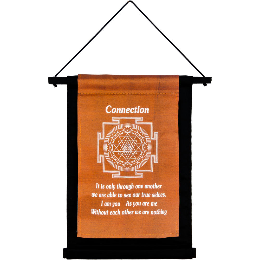 CONNECTON INSPIRATIONAL BANNER WALL HANGING