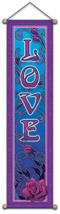 LOVE AFFIRMATION BANNER WALL HANGING