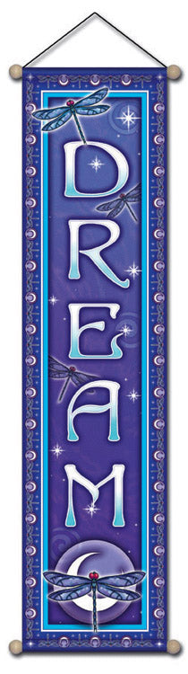 AFFIRMATION BANNER DREAM WALL HANGING
