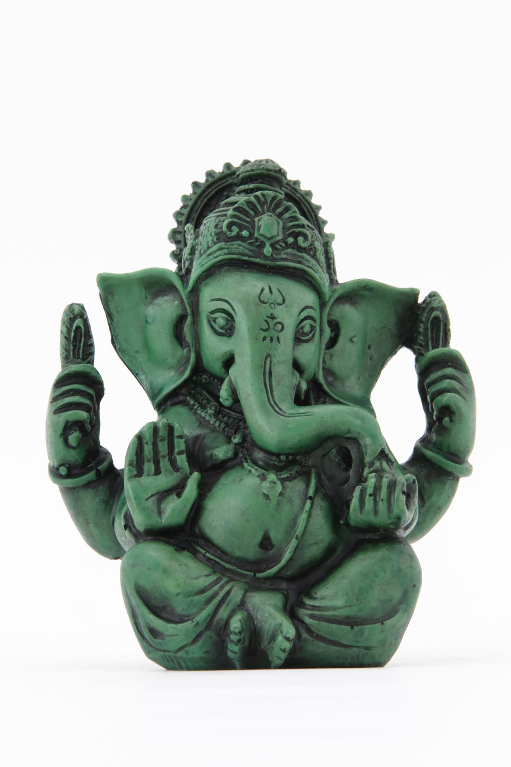 GANESHA AURA COLORED STATUE LARGE SIZE FRONT VIEW