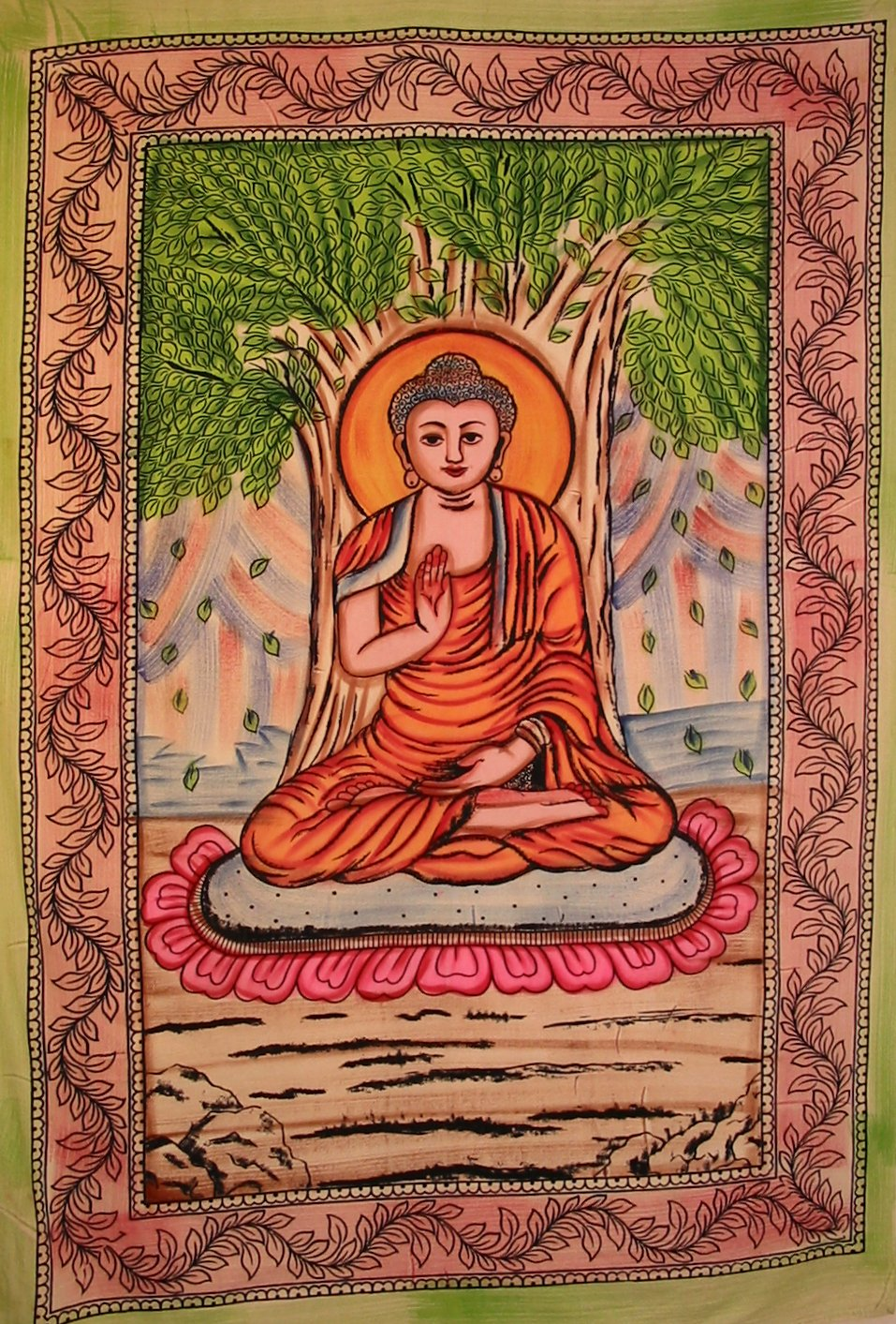 BUDDHA THE ENLIGHTENED ONE TAPESTRY MUTLI