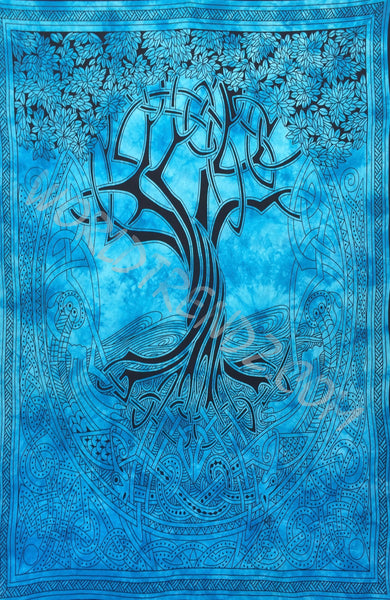 Tree of Life Celtic Tapestry