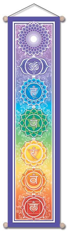 AFFIRMATION BANNER CHAKRA IMAGE WALL HANGING
