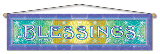 BLESSINGS ENTRY WAY AFFIRMATION BANNER