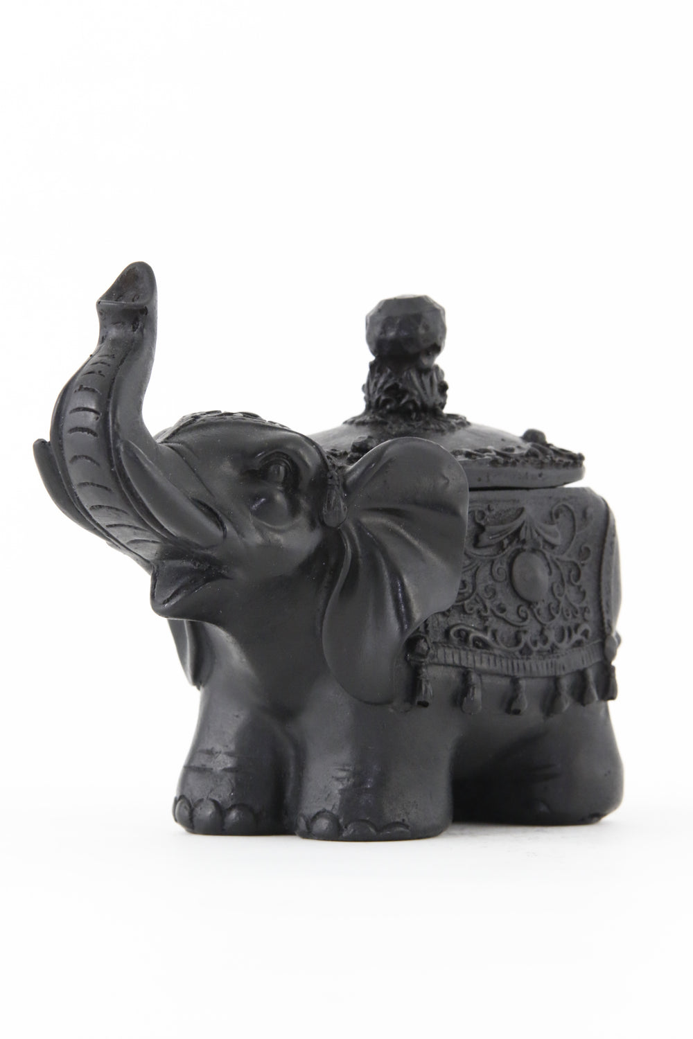 ELEPHANT BOX STATUE RECTANGLE DARK SIDE 2 VIEW