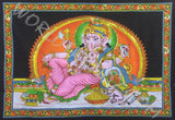 DEITY TAPESTRY SEQUINED GANESHA CONTEMPORARY