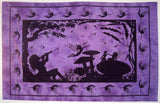 FAIRY ALICE IN WONDERLAND TAPESTRY PURPLE
