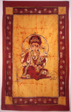 GANESHA TRADITIONAL TAPESTRY BROWN