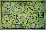GREEN MAN FATHER NATURE TAPESTRY GREEN