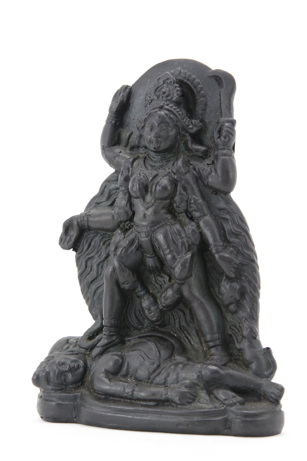 GODDESS KALI STANDING STATUE DARK SIDE VIEW