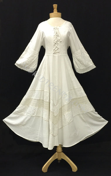 Lace-Up Medieval Style Dress