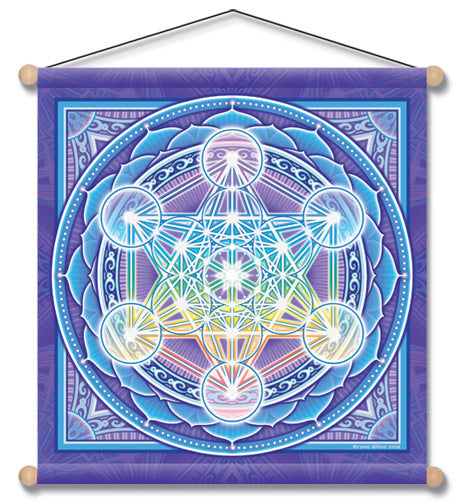 METATRON MANDALA WALL HANGING