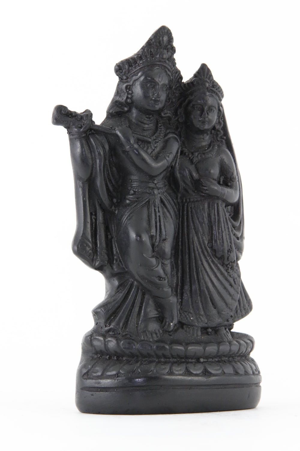 RADHA KRISHNA STATUE DARK SIDE VIEW