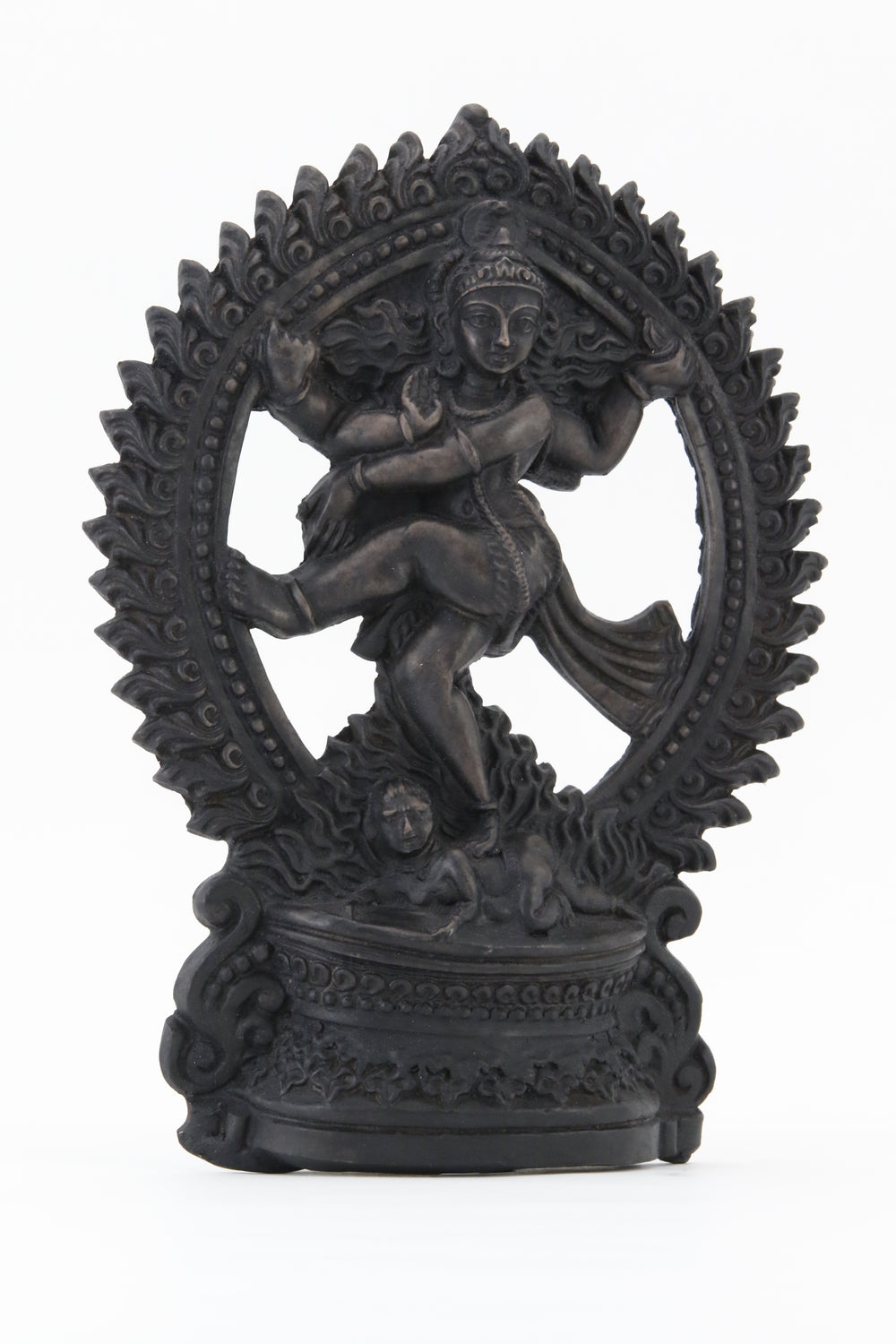 SHIVA DANCING POSE STATUE DARK SIDE 1 VIEW