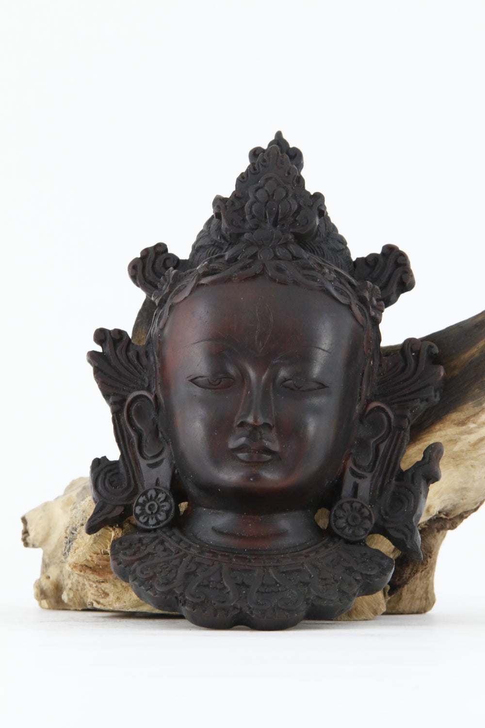 TARA WALL MOUNT STATUE DARK SMALL SIZE FRONT VIEW