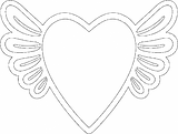 SILHOUETTE DREAMCATCHER JAR WING HEART
