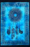 DREAMCATCHER TAPESTRY POSTER SIZE TURQUOISE