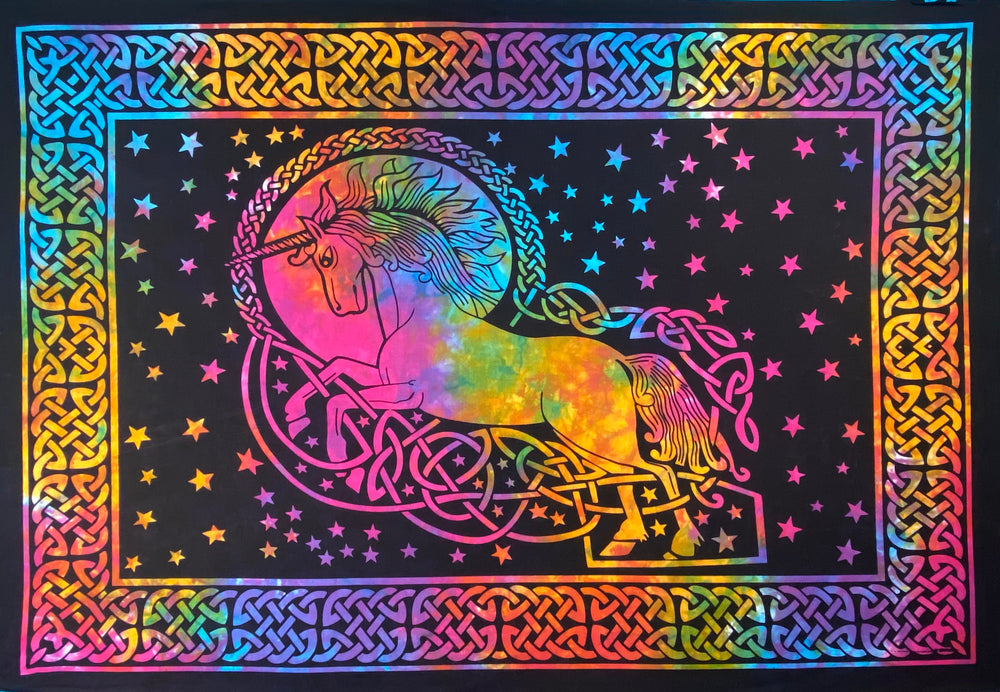 UNICORN TAPESTRY POSTER SIZE MULTI