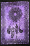 DREAMCATCHER TAPESTRY POSTER SIZE PURPLE