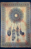 DREAMCATCHER TAPESTRY POSTER SIZE YELLOW