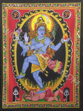 DEITY TAPESTRY SEQUINED SHIVA DANCING