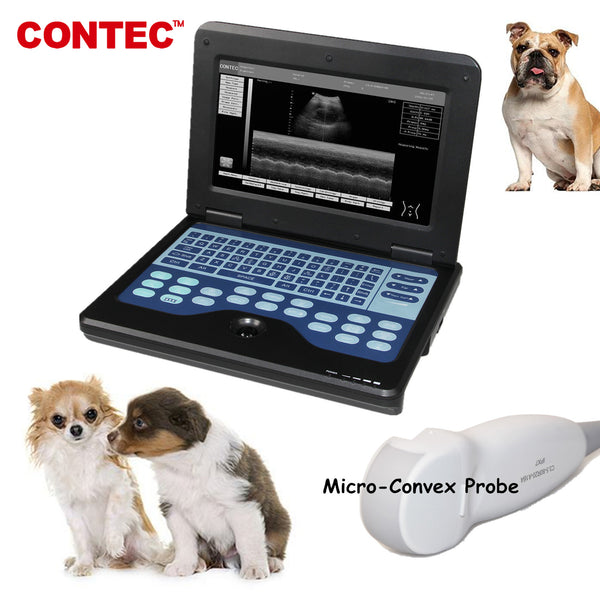 Vet Veterinary Ultrasound Scanner micro-Convex small animals CMS600P2-VET free Bag - contechealth