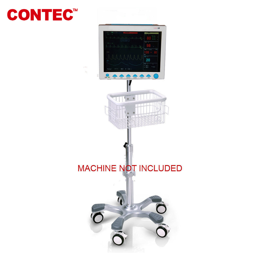 China warehouse  Rolling stand for CONTEC CMS8000 CMS-8000 patient monitor - contechealth