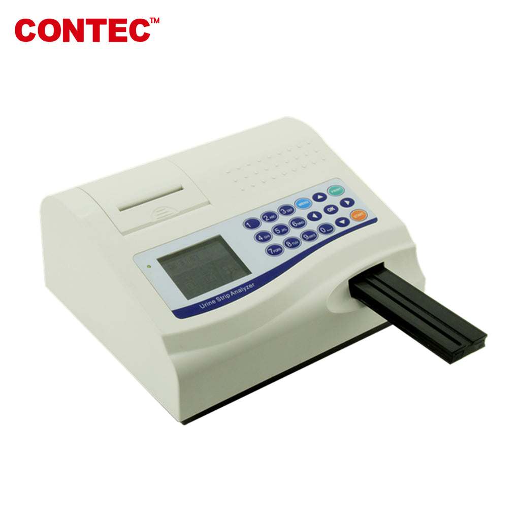 CONTEC BC400 Urine Analyzer 11 parameter Monitor with Thermal Printer,USB .Test strips - CONTEC