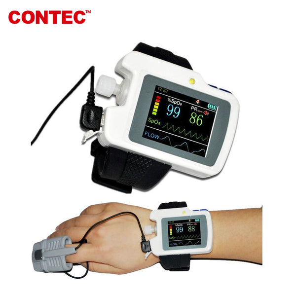 CONTEC RS01 Respiration Sleep Monitor,Wrist Sleep Apnea Screen Meter software - contechealth