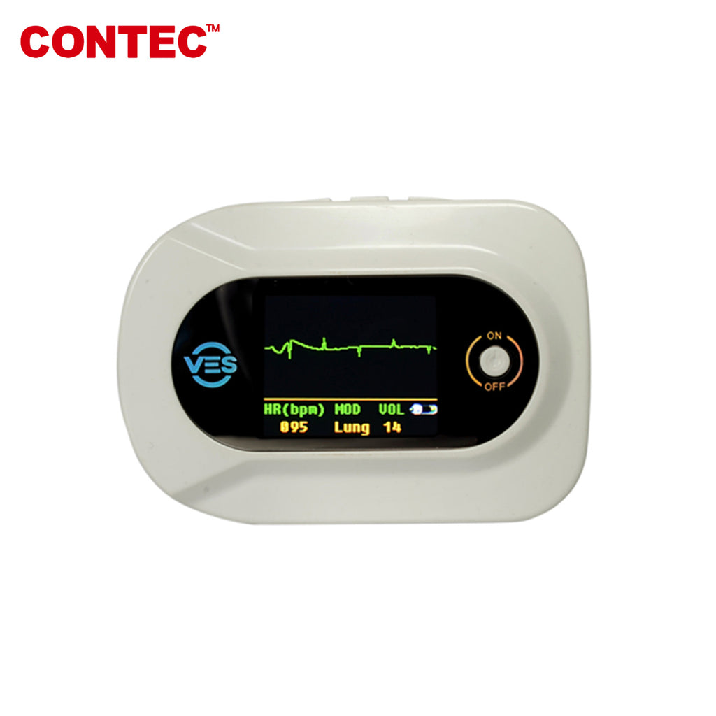 CONTEC Digital Visual Stethoscope CMS-VE Multi Functional ECG SPO2 Pulse Heart Rate - contechealth