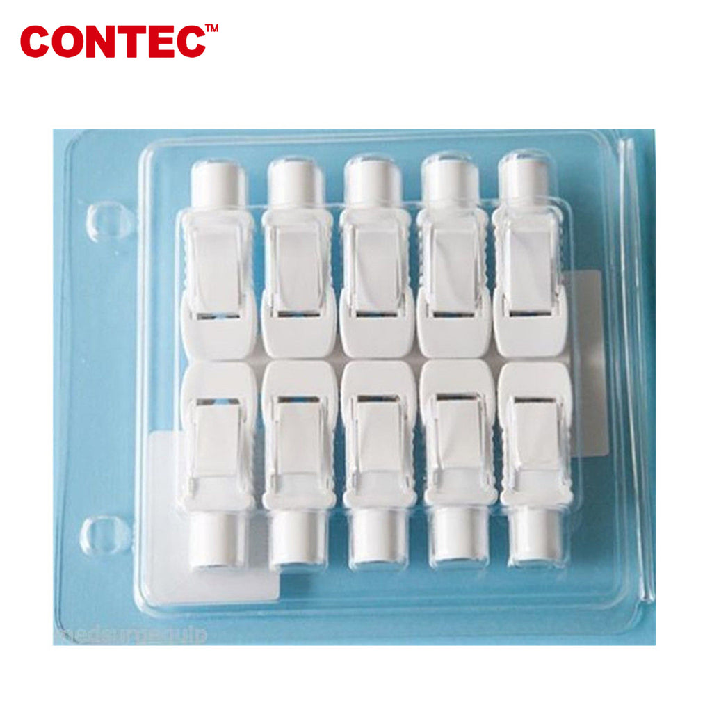 10pcs Clips-Banana ECG cable Connector ECG 4.0mm multifunction switch electrode - CONTEC