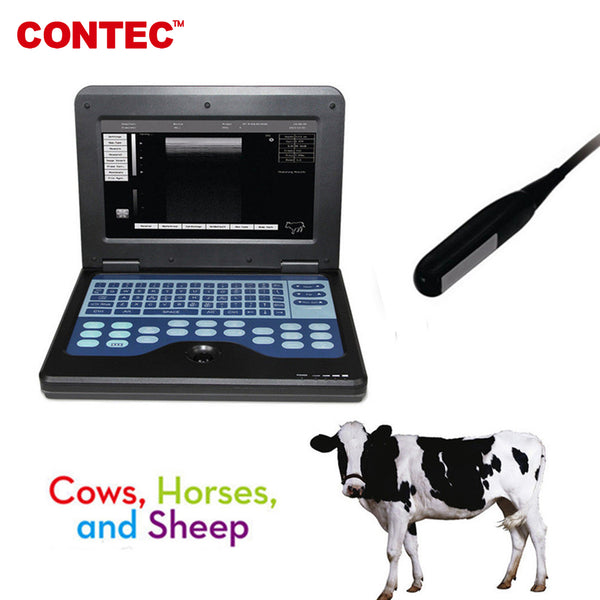 Animal/Pets Portable Medical Laptop Machine Veterinary Ultrasound Scanner CMS600P2VET - CONTEC