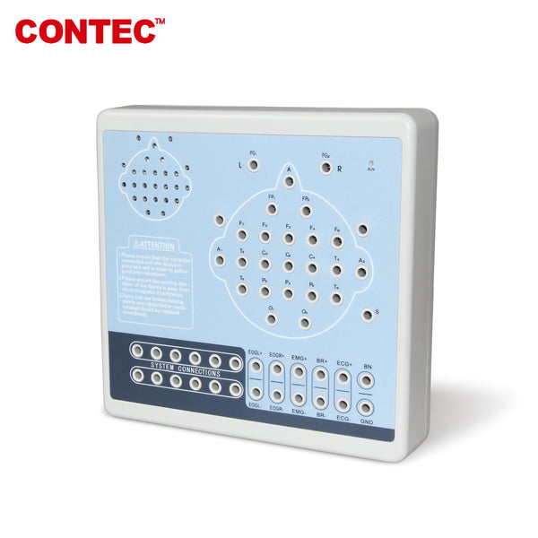 KT88-2400 Digital 24-Channel EEG and Mapping System+2 Tripods PC software - contechealth
