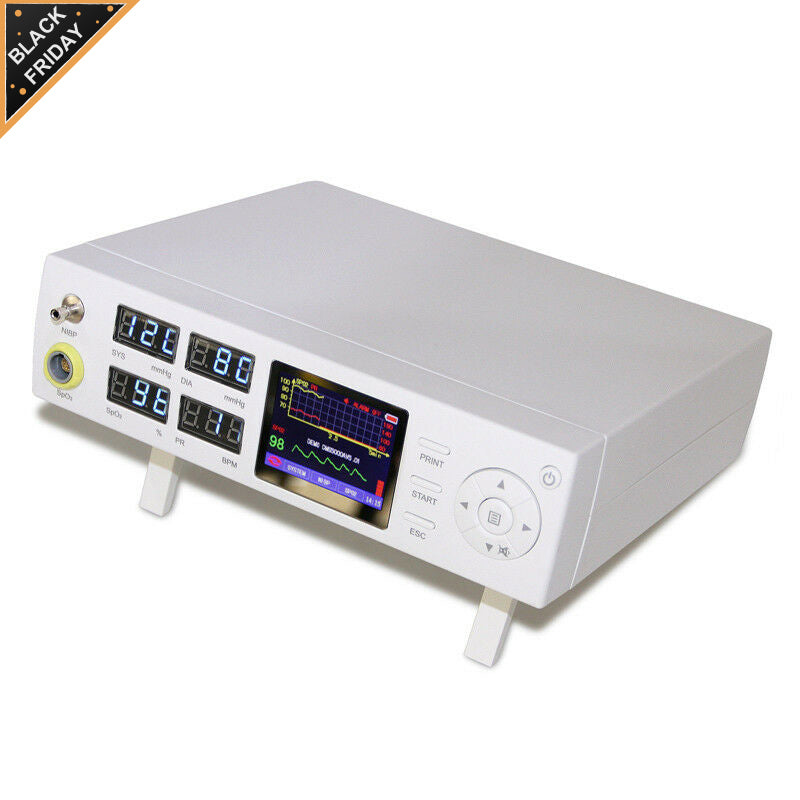 Ship from China CMS5000 ICU Patient Monitor SPO2 NIBP Pulse Rate Heart Rate Vital Signs Monitor